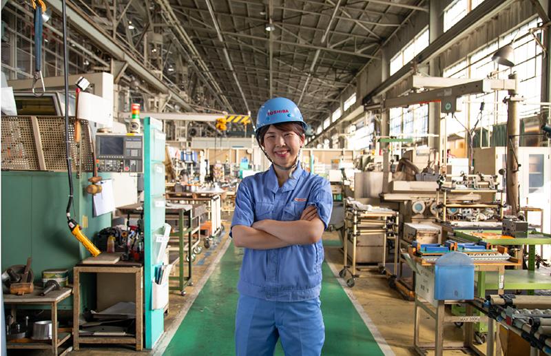 東芝エネルギーシステムズ株式会社 開閉装置部 開閉装置製造技術グループ 白鳥 佐紀子氏(その2)