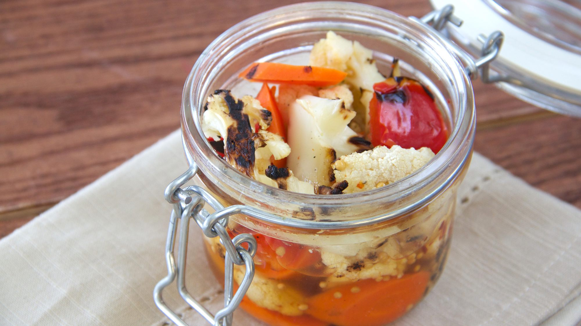 McCormick Quick-pickled Grilled Cauliflower
