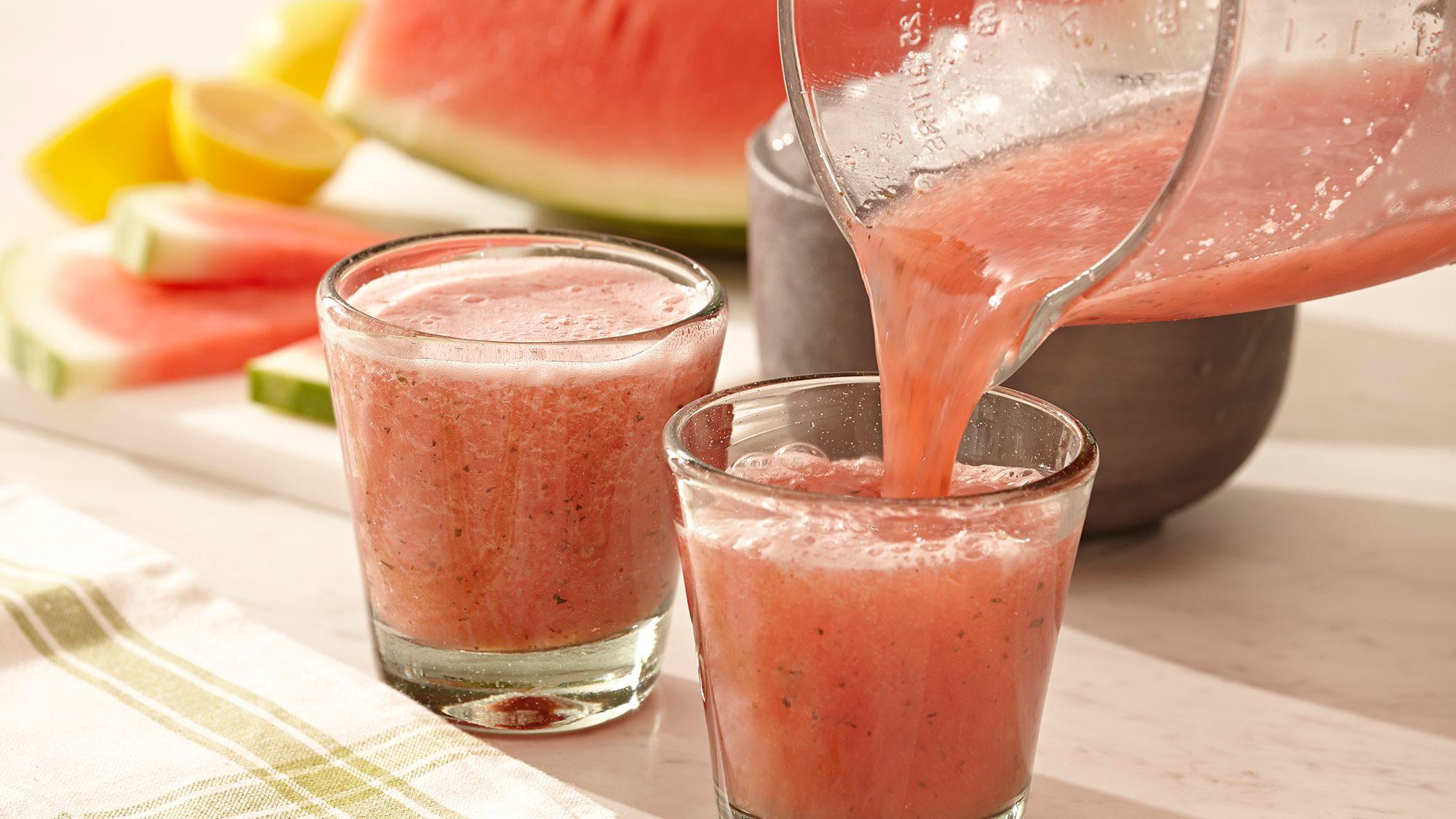 McCormick Basil and Watermelon Slushie