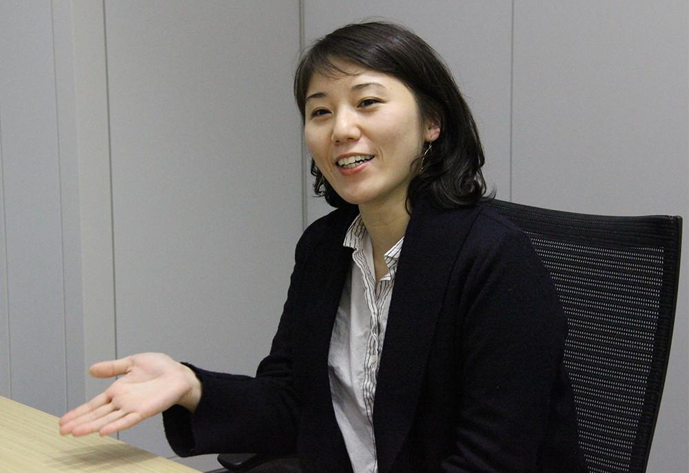 東芝 デザインセンター デザイン第一部 社会インフラ担当 寺岡佳子氏