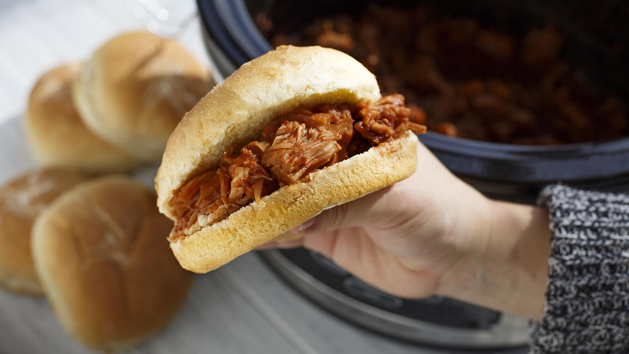 Kitchen Basics Vegan BBQ Pulled Jackfruit