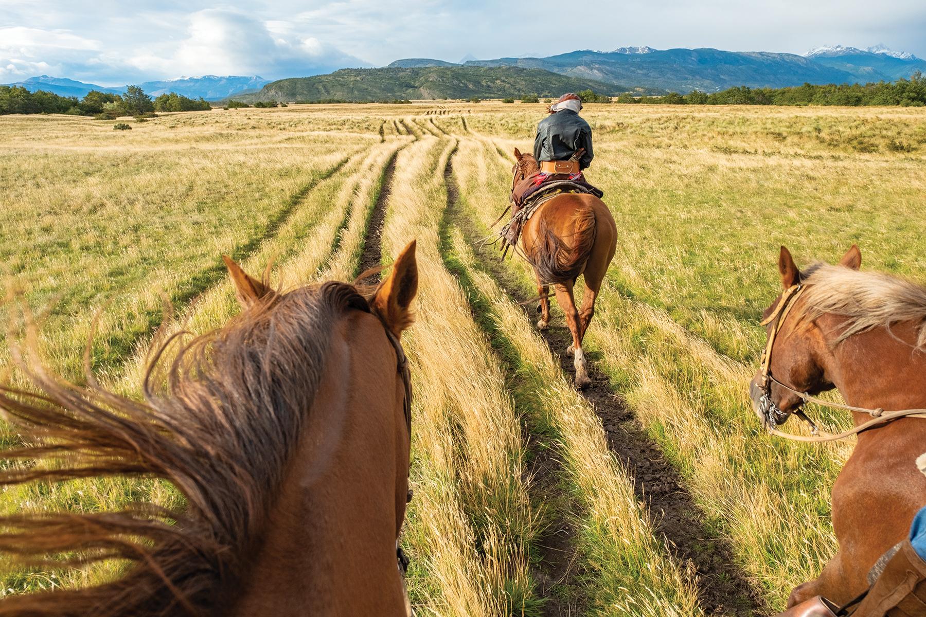horseback scenery