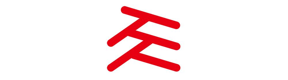 社内コミュニティのロゴ。「人」が重なり、「根」を形成している様子を表現している