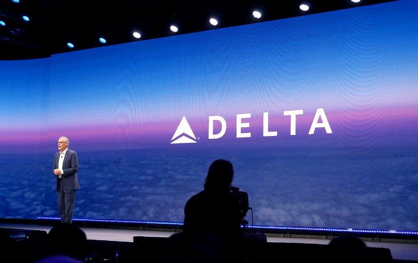 写真 : CES2020の基調講演に登壇した米Delta Air Linesのエド・バスティアンCEO(出所:日経BP総研)