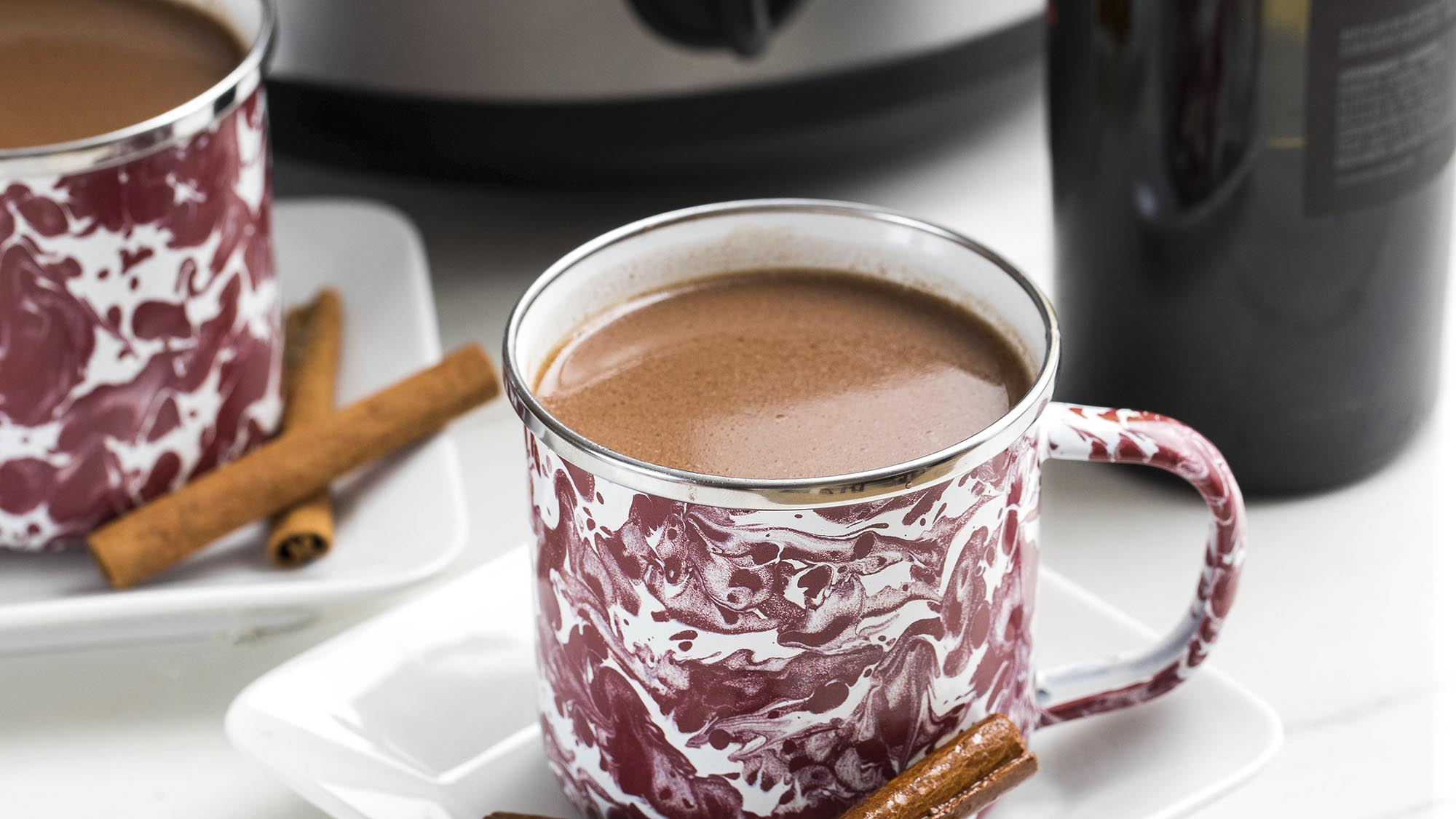McCormick Slow Cooker Red Wine Hot Chocolate