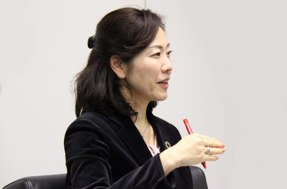 株式会社東芝 CSR経営推進室長 相馬 季子氏