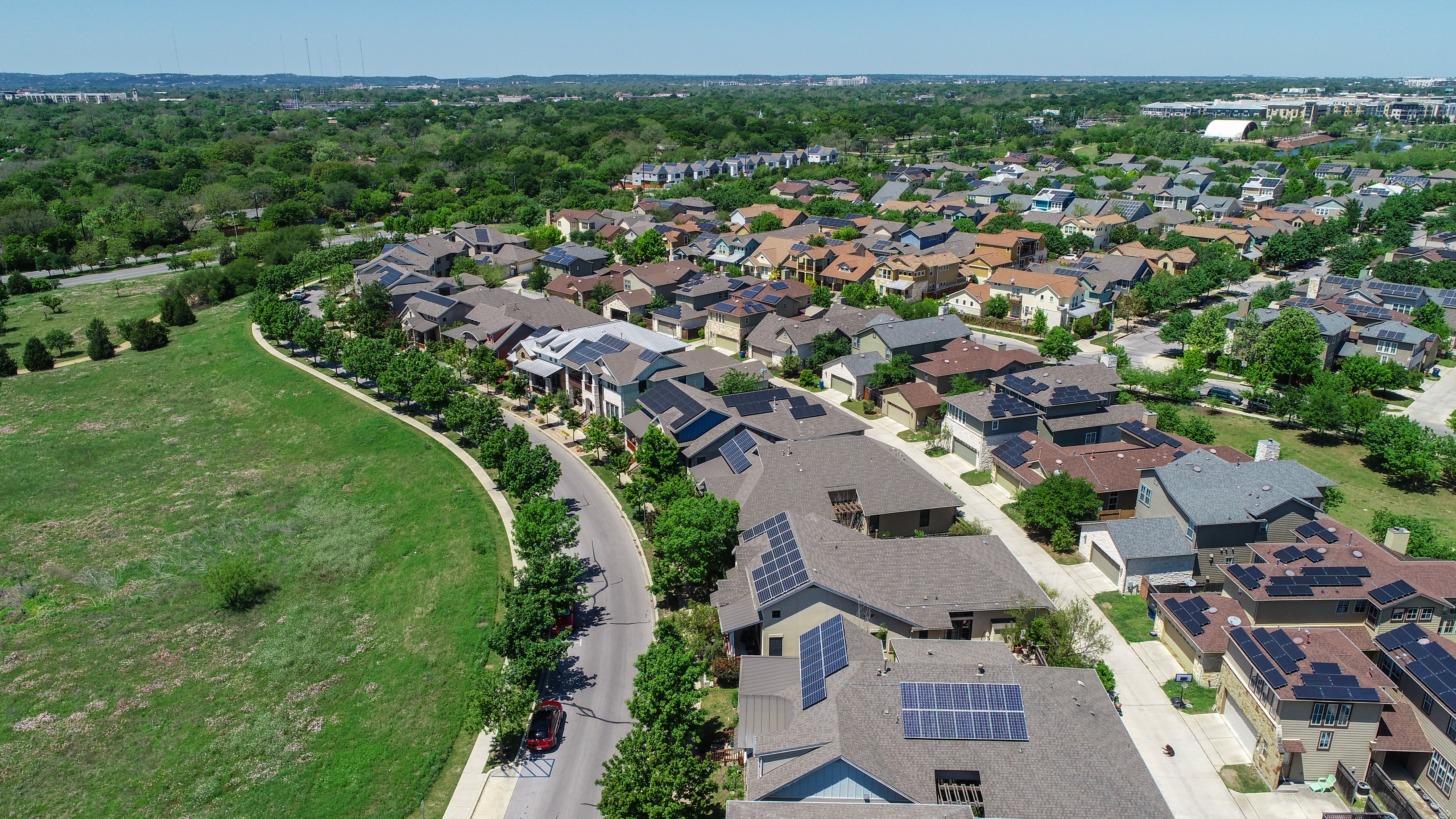 Solar powered neighborhood