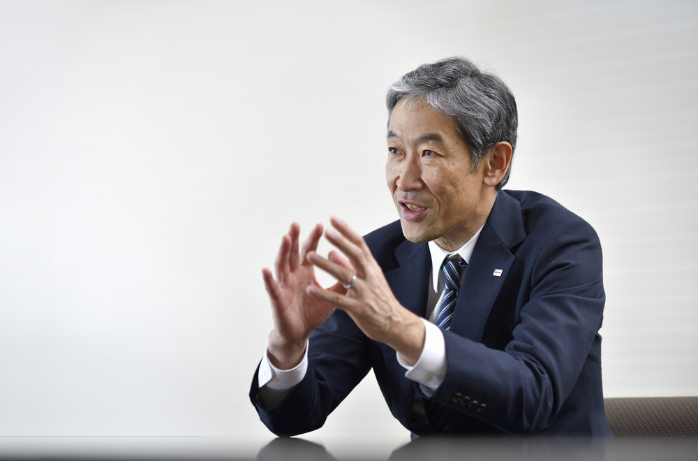 Dr. Shiro Saito, Toshiba's Chief Technology Officer