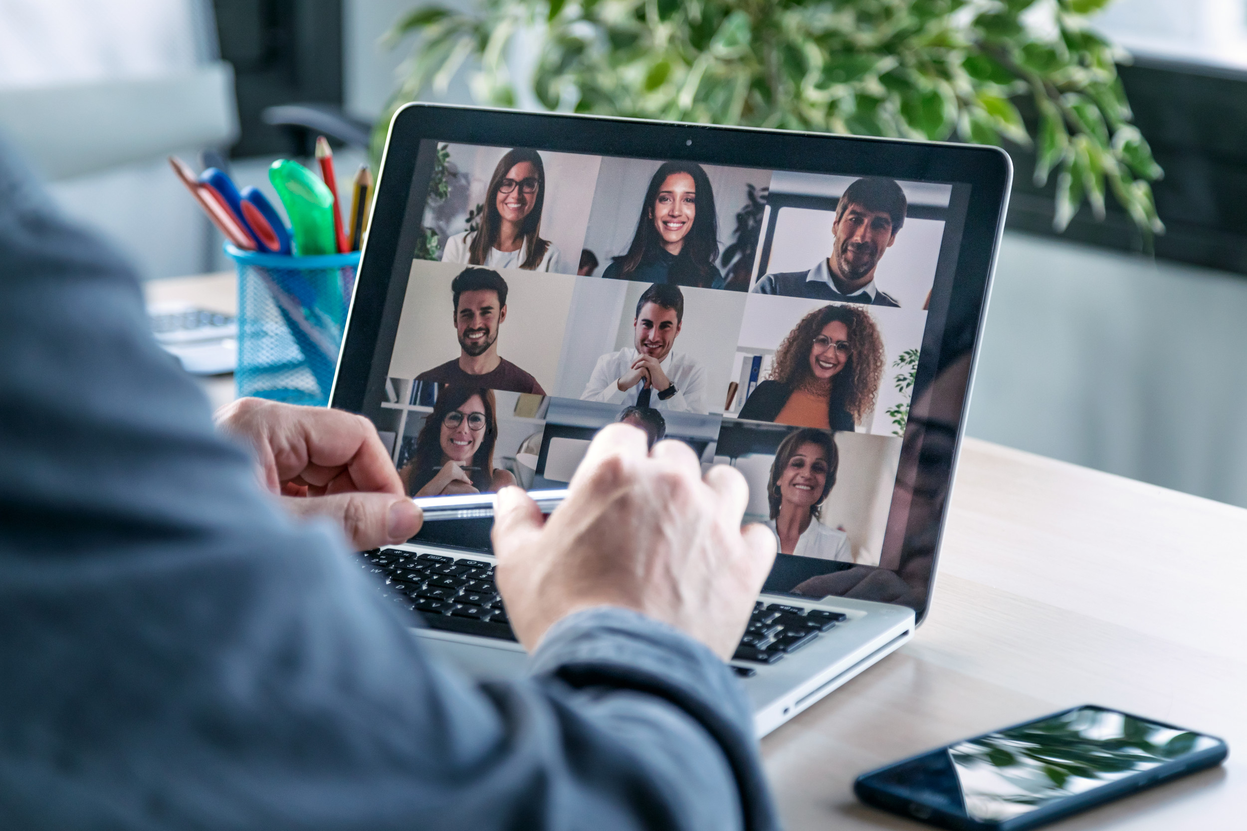 Virtual work with colleagues is hard. Remote relationships with clients are harder.