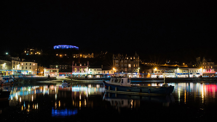 Oban, West Scotland