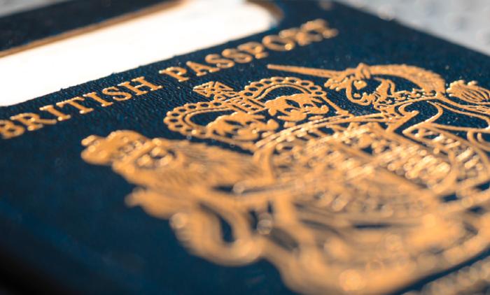 Expired British Passport