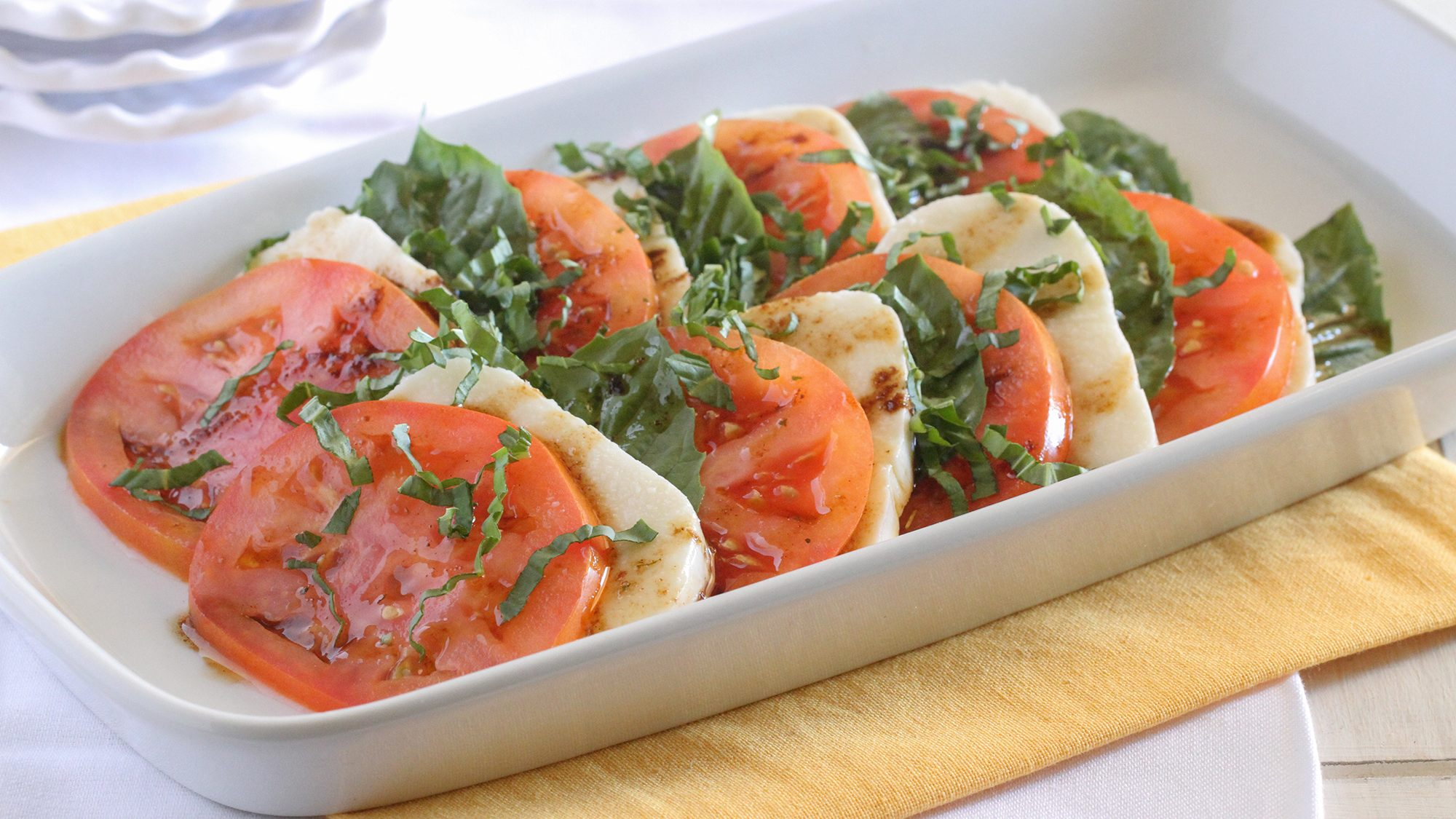Lawry's Marinated Mozzarella & Tomatoes