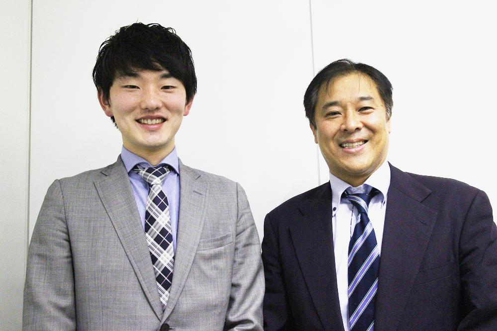 今回お話を伺った森学人氏(左)と小泉聡志氏(右)