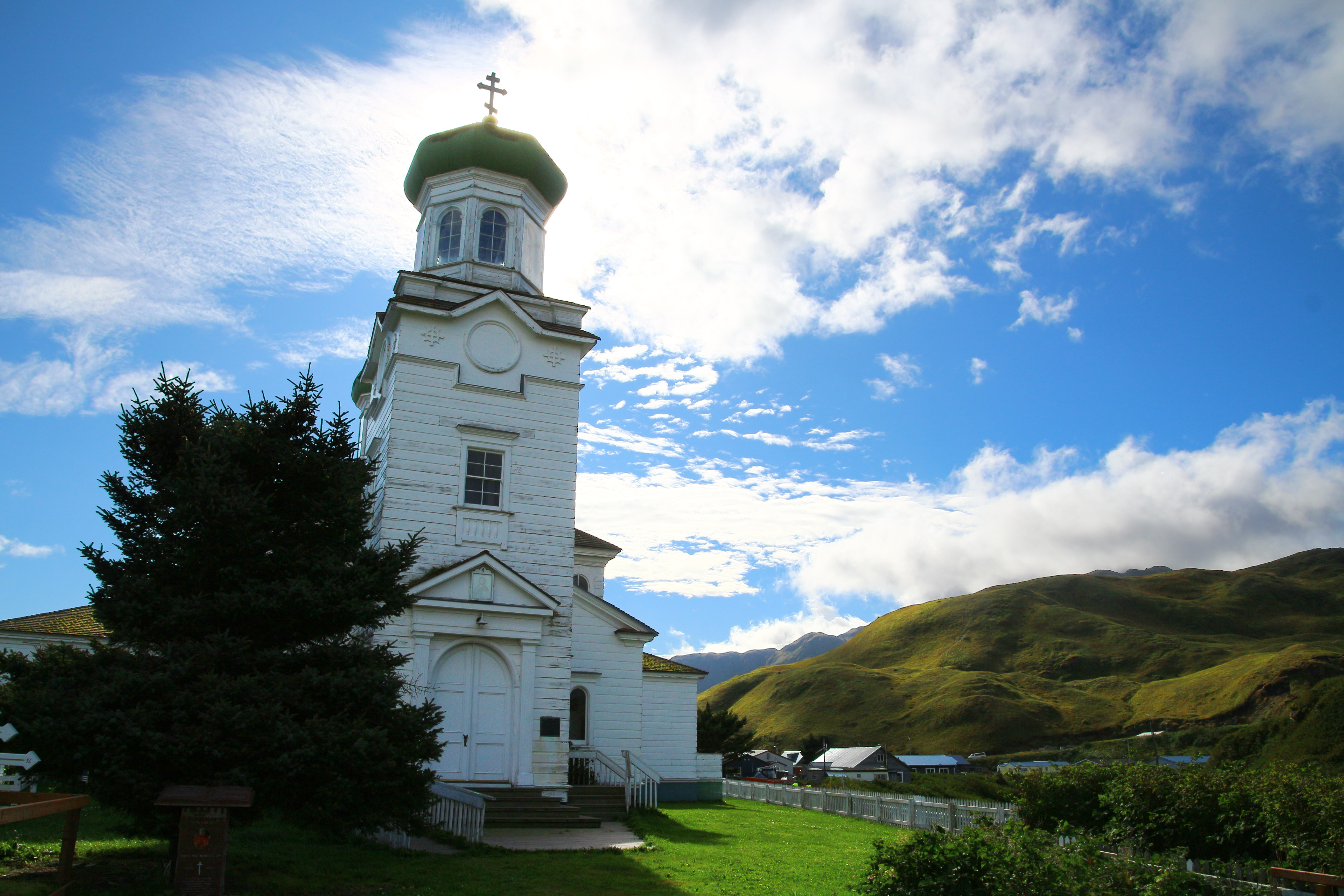 The Church of the Holy Ascension Unalaska-Dutch Harbor