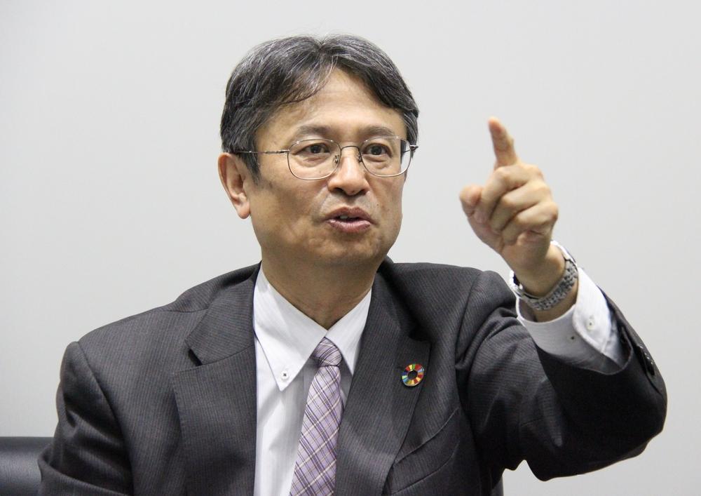 東芝デジタル&コンサルティング株式会社 取締役社長 沖谷 宜保 氏