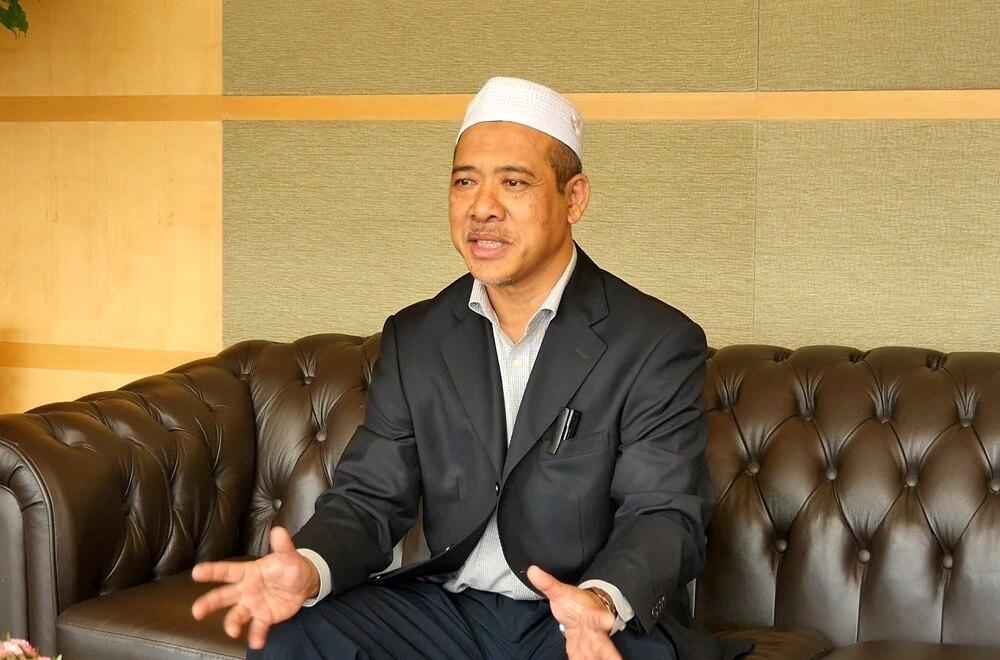 Haji Rahim, former CEO of Pengangkutan Awam Putrajaya Travel & Tours