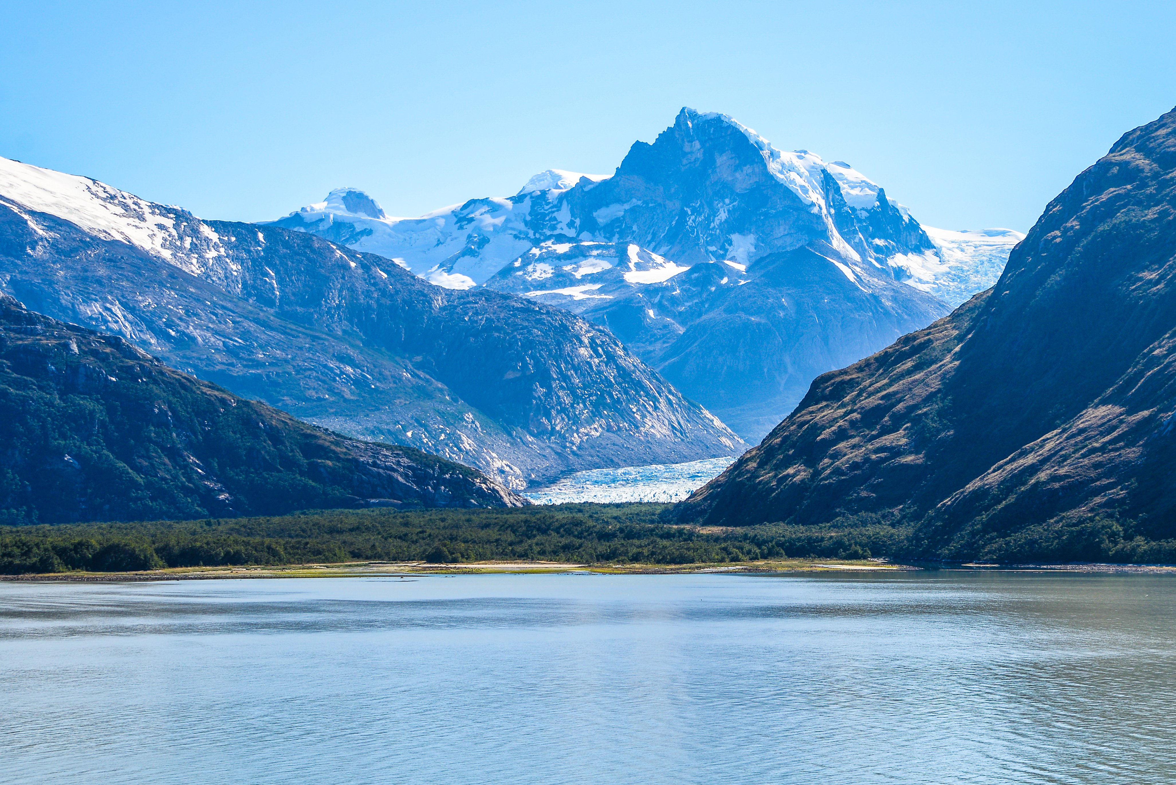 Fjords and channels of Chile