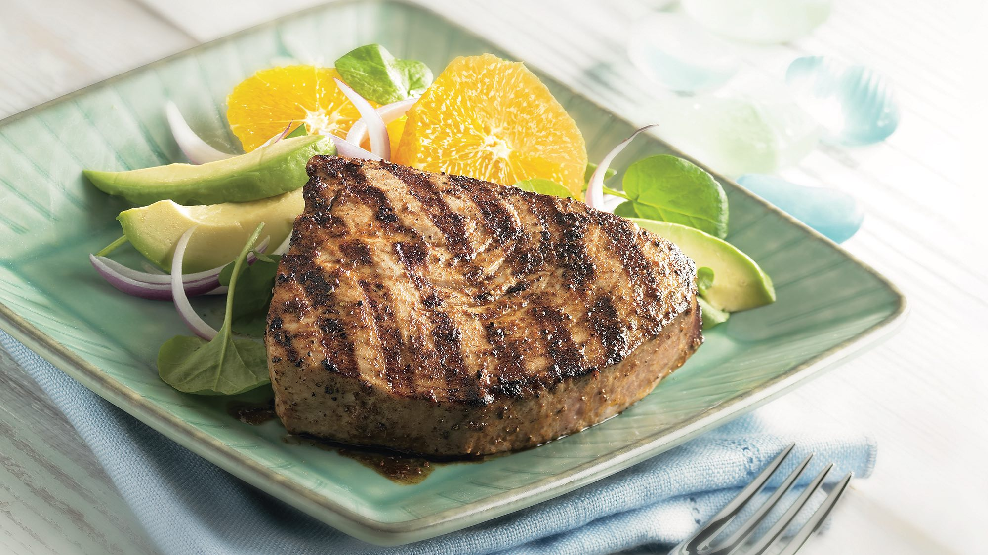 McCormick Caribbean Grilled Tuna