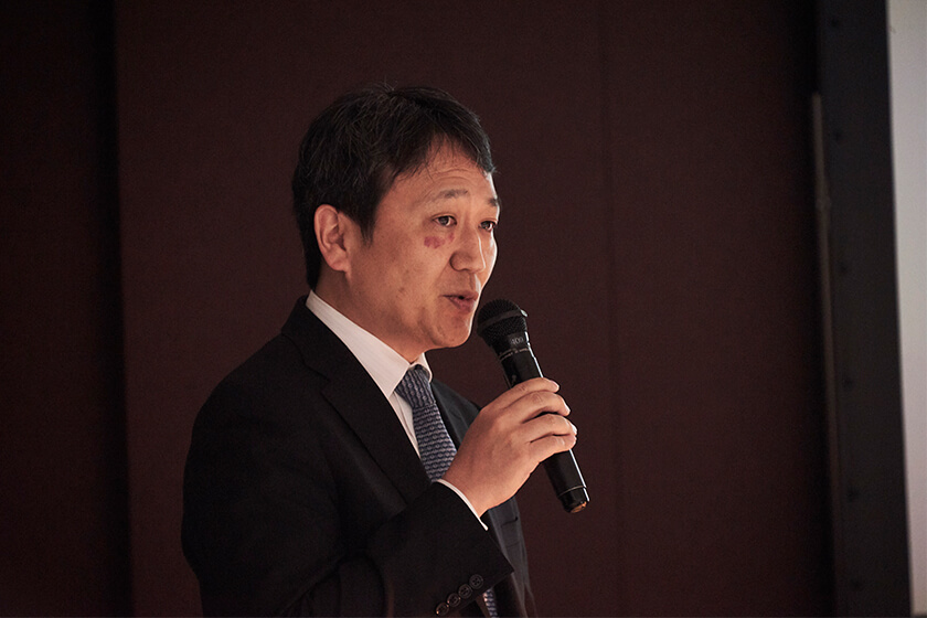 Photo : Masaharu Yoshiyama VP, Platform Division, AI Services Business Unit Fujitsu Limited