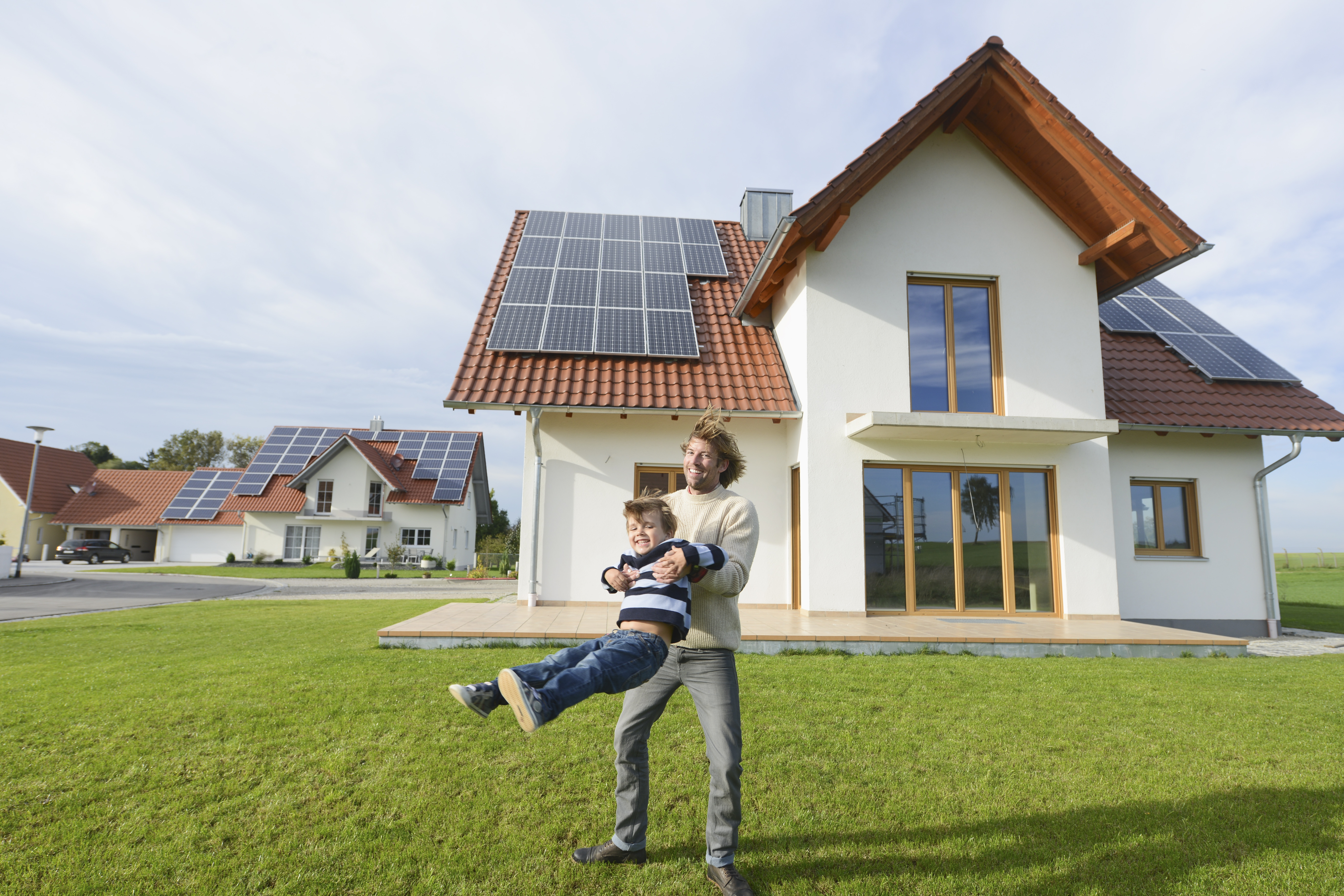 increase property value solar panels residential