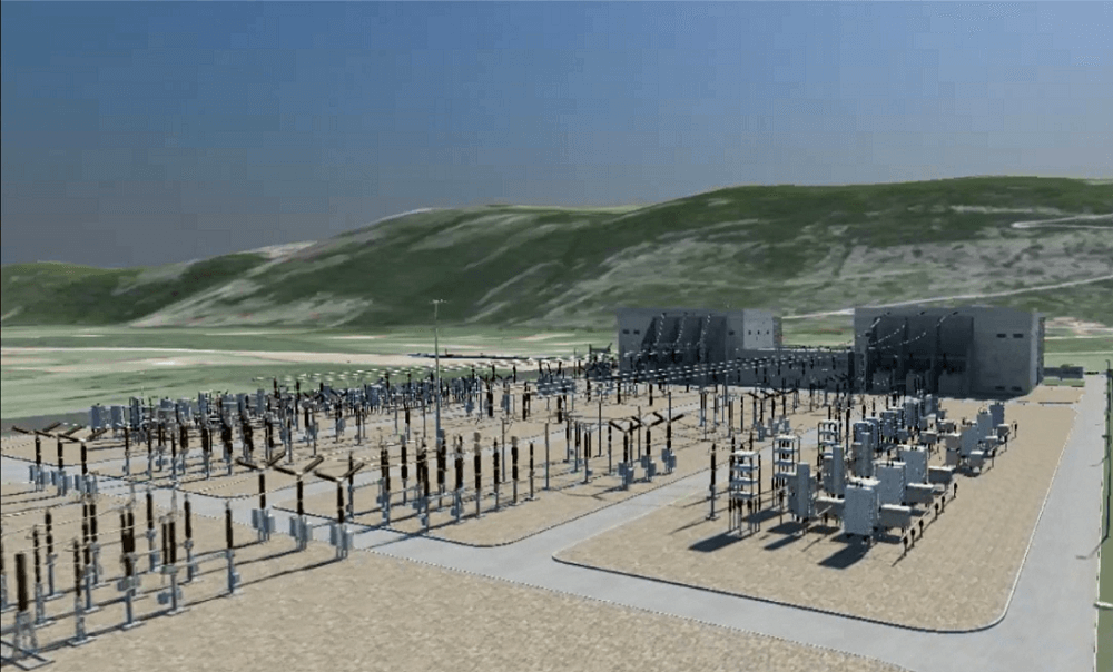 Conceptual drawing (CG) of conversion facility