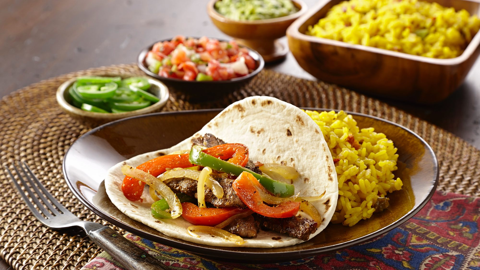 McCormick Steak Fajitas