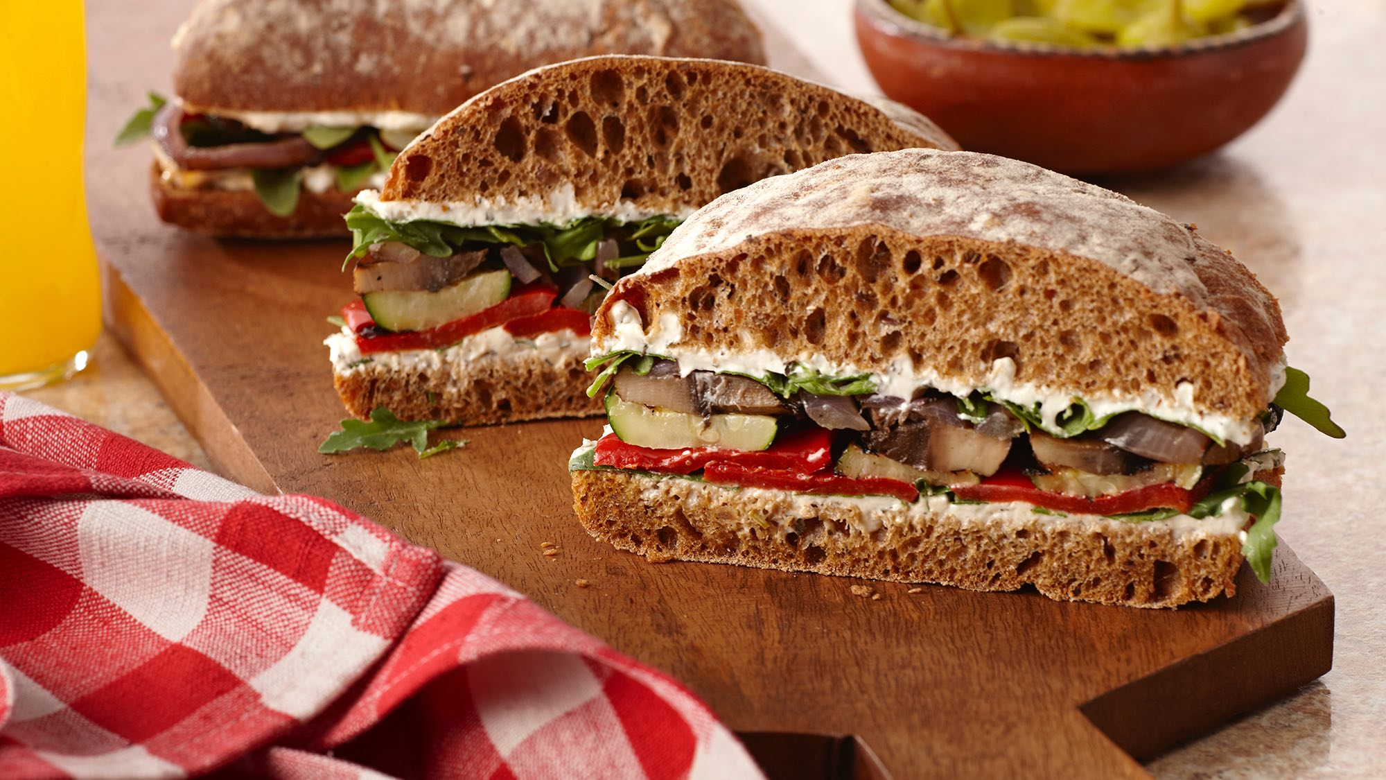 McCormick Italian Herb Grilled Vegetable Sandwich