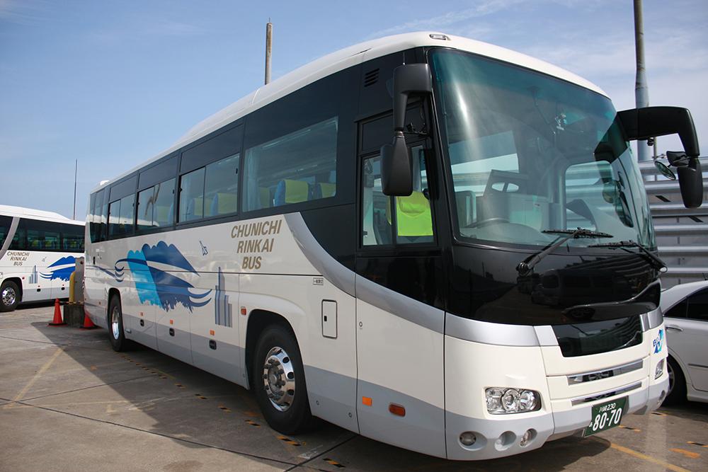 「日常健康見守りサービス」を導入している中日臨海バス