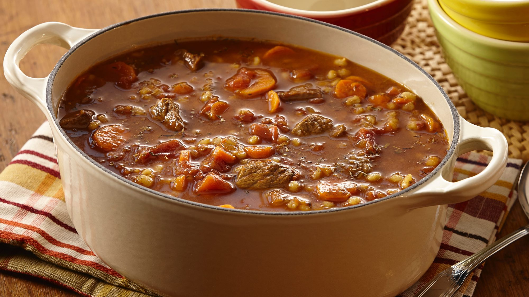 McCormick Slow Cookers Beef Barley Soup