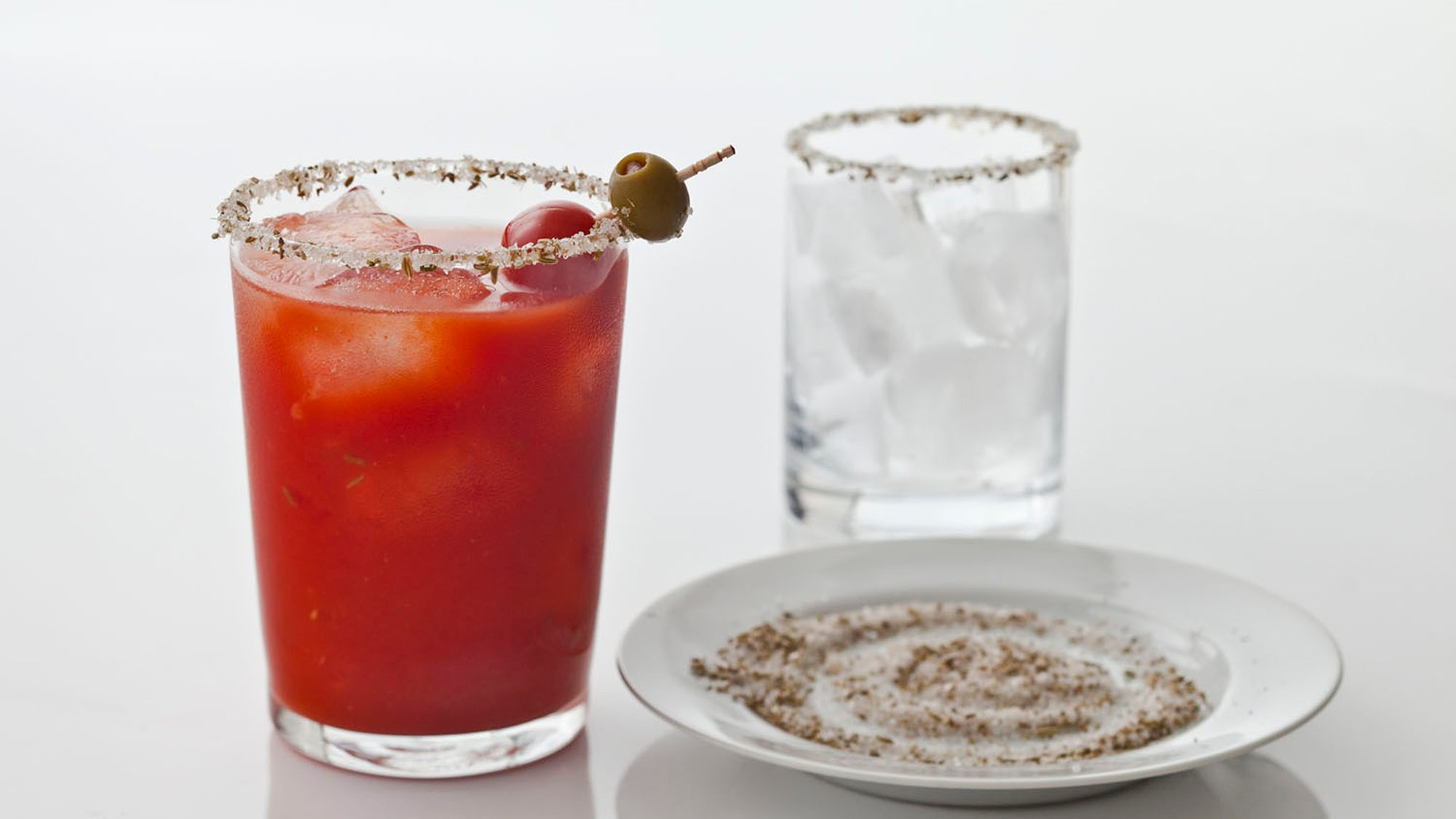 McCormick Gourmet Peri Peri Fennel Bloody mary with Vodka Infused Tomatoes