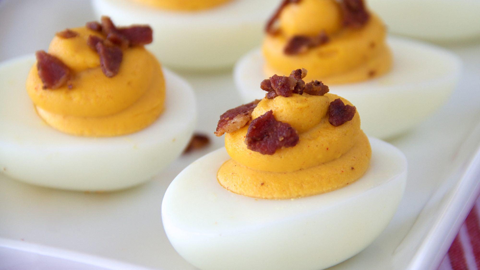 McCormick Smoky Deviled Eggs