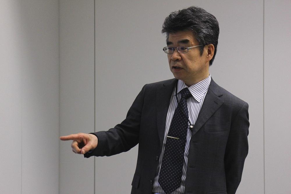 東芝・火力プラント技術部の前泊淳一郎氏