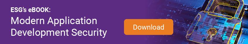 ESG eBook: Modern Application Development Security