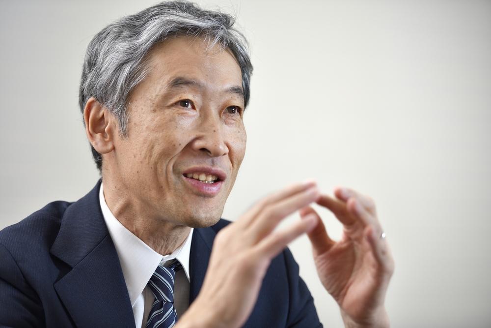 株式会社東芝 執行役専務 斉藤史郎氏