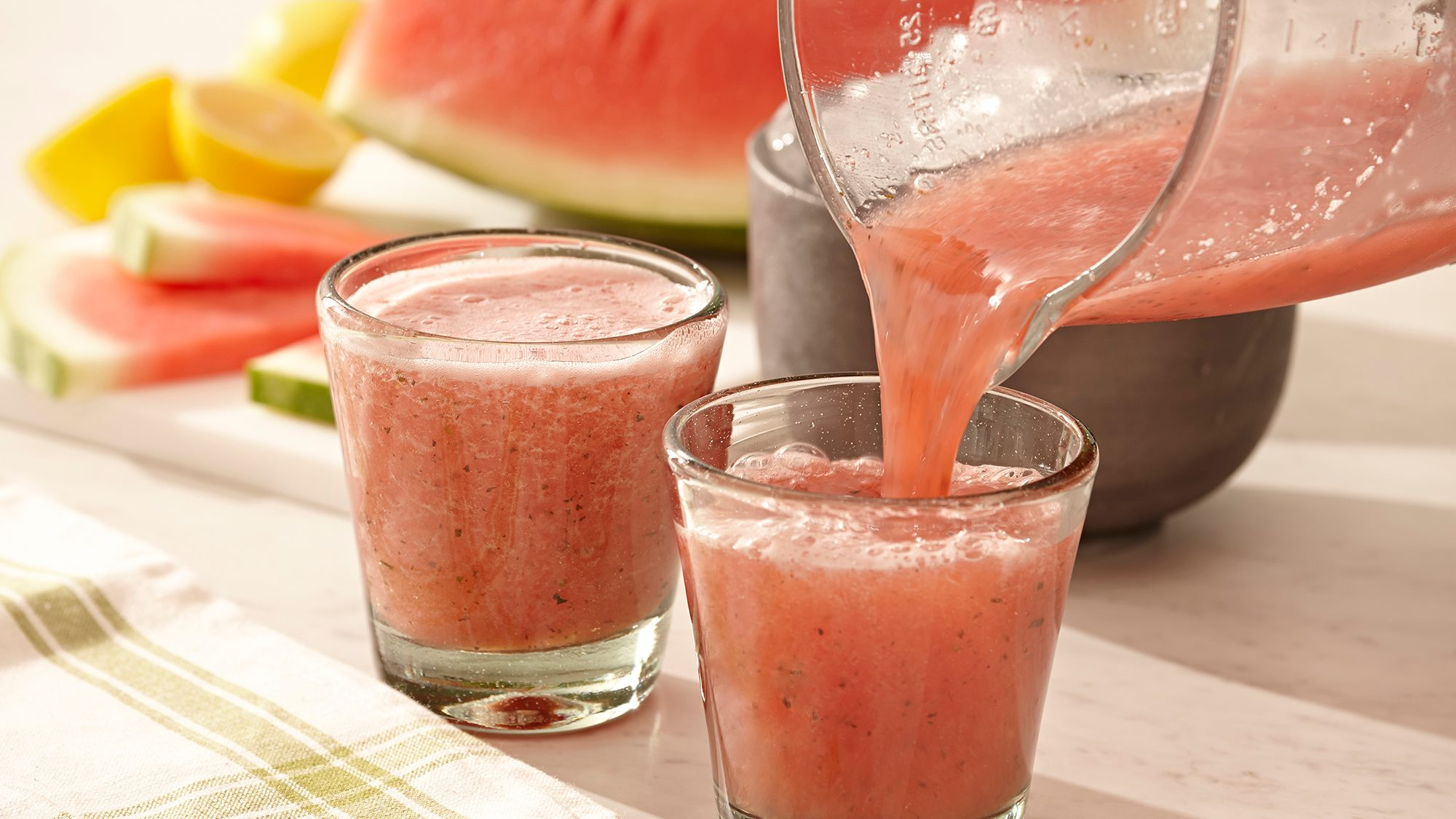 McCormick Basil and Watermelon Slushie