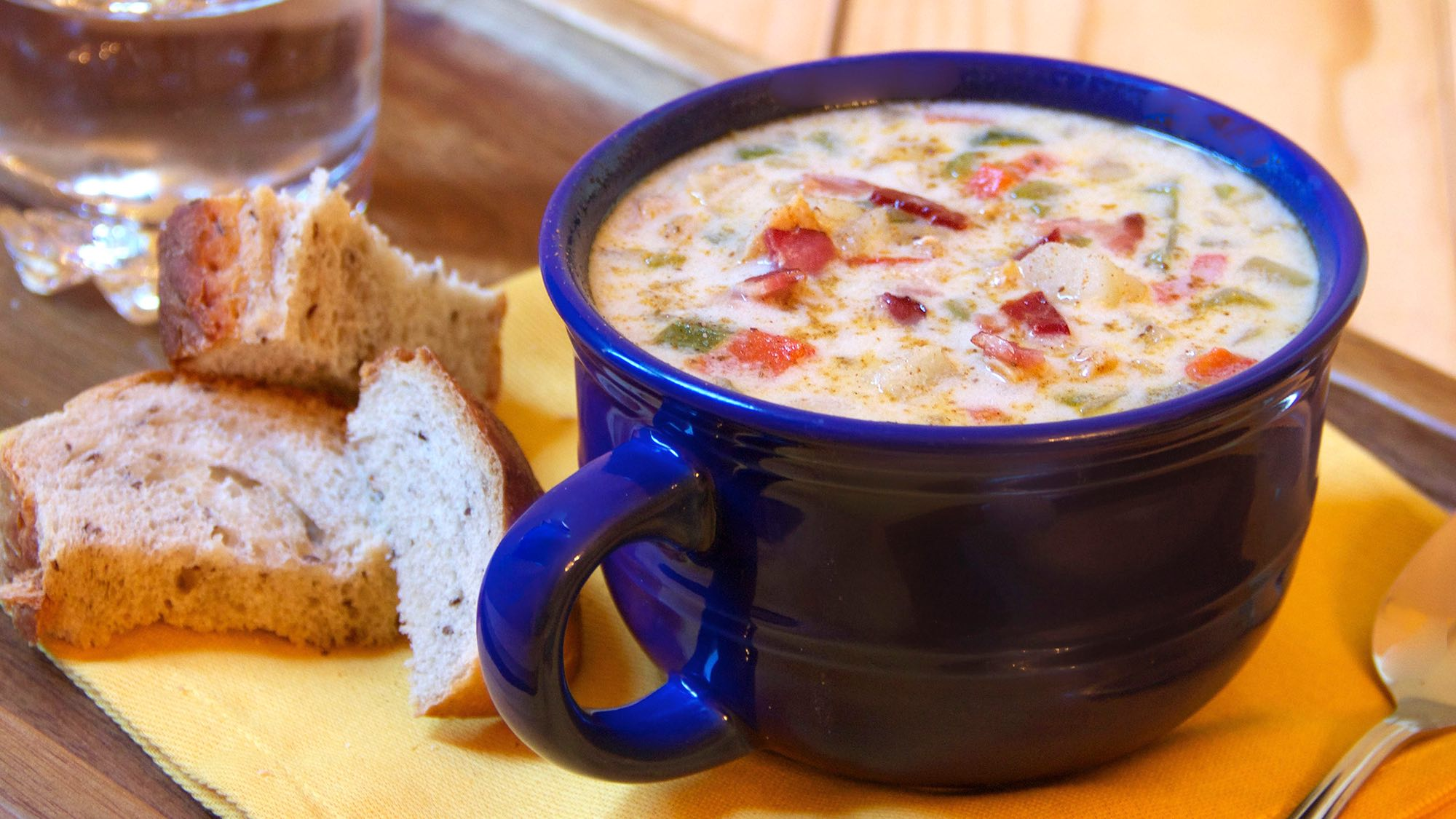 McCormick Old Bay Clam Chowder
