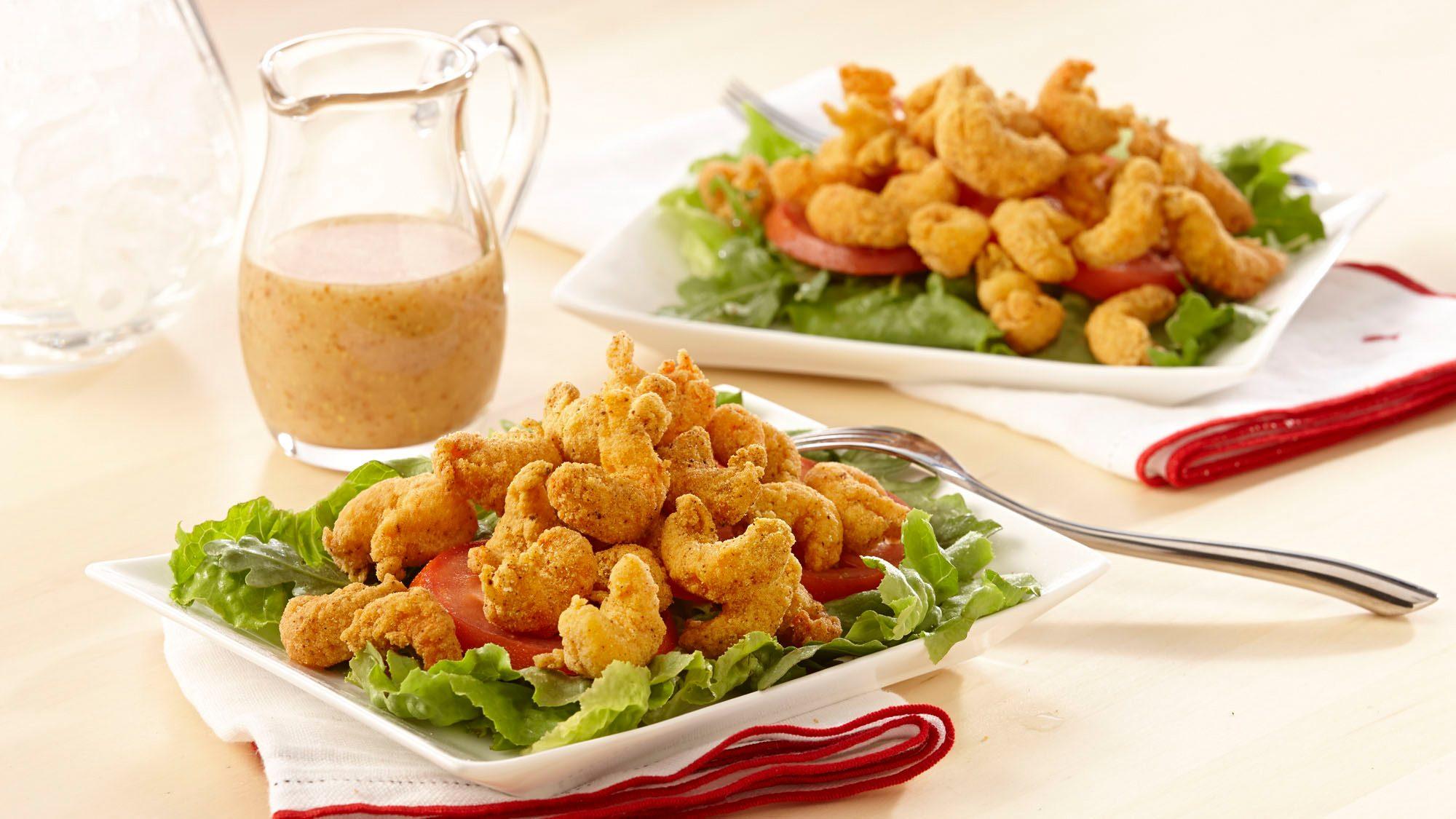 ZATARAIN's Fried Crawfish Salad