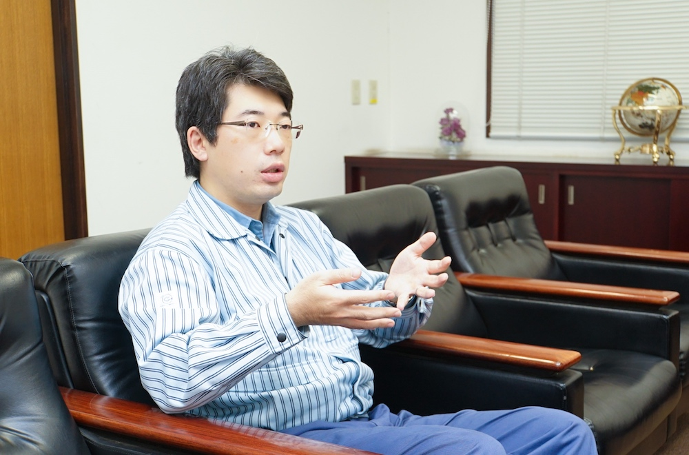 Shotaro Takayama, Planning Group Manager, Kawasaki Plant, Showa Denko K.K.