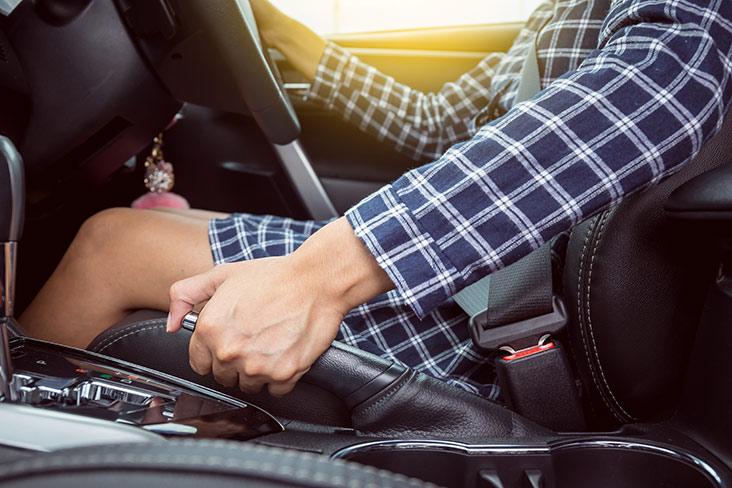 Car handbrake