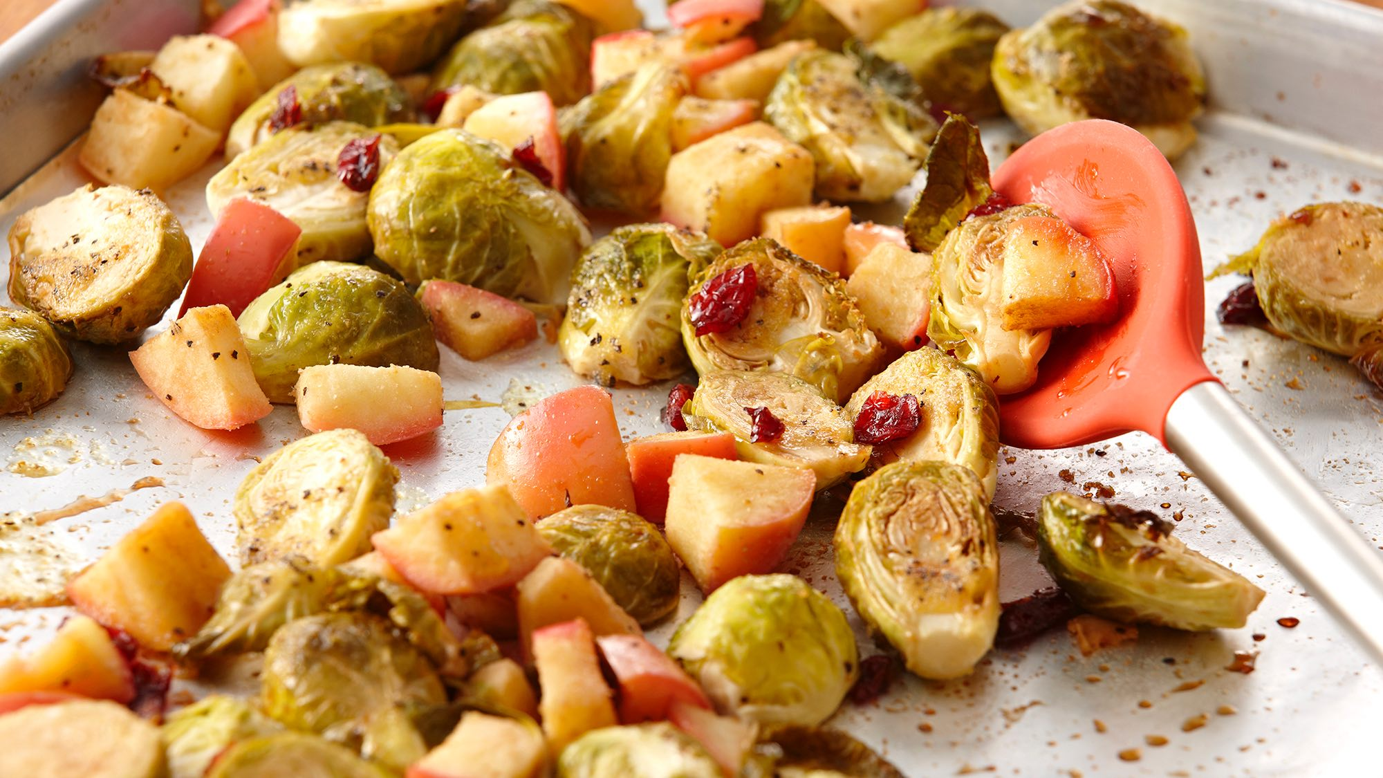 McCormick Roasted Brussels Sprouts and Apples