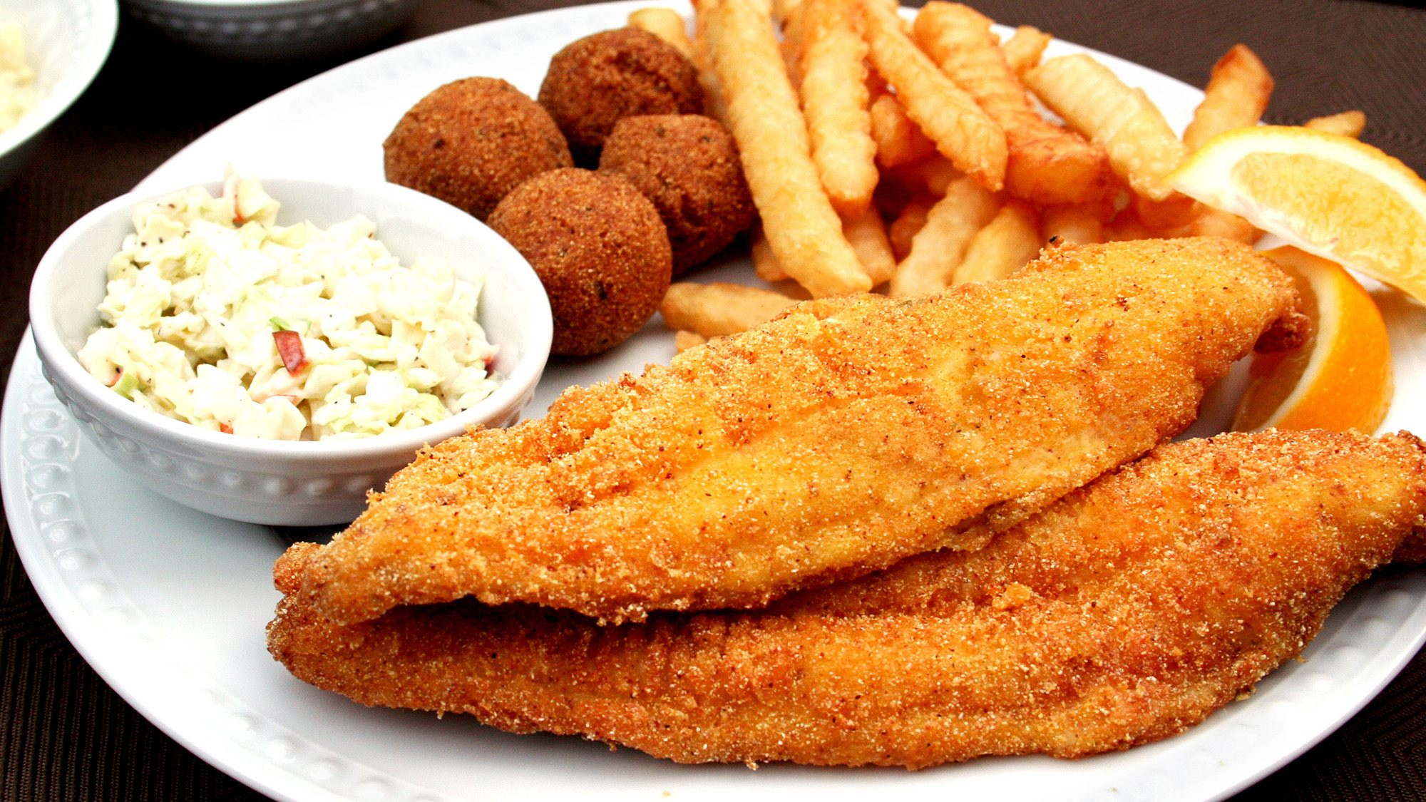 Zatarain's Creole Mustard Battered Fish