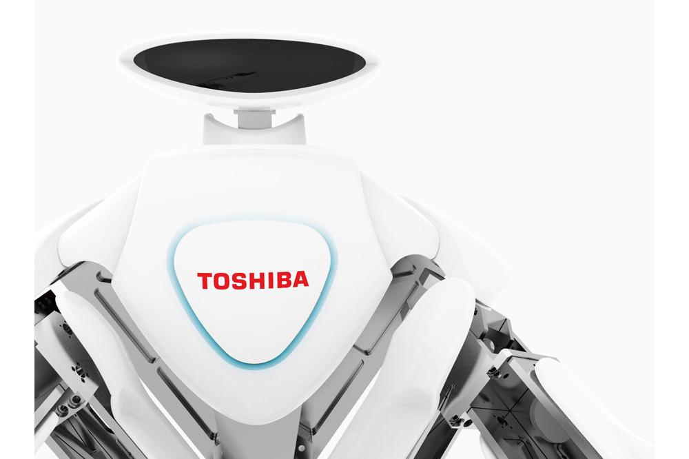 東芝の双腕ロボットは人間との共存を念頭にデザインされている