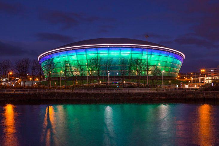 SSE Hydro Arena Glasgow Scotland