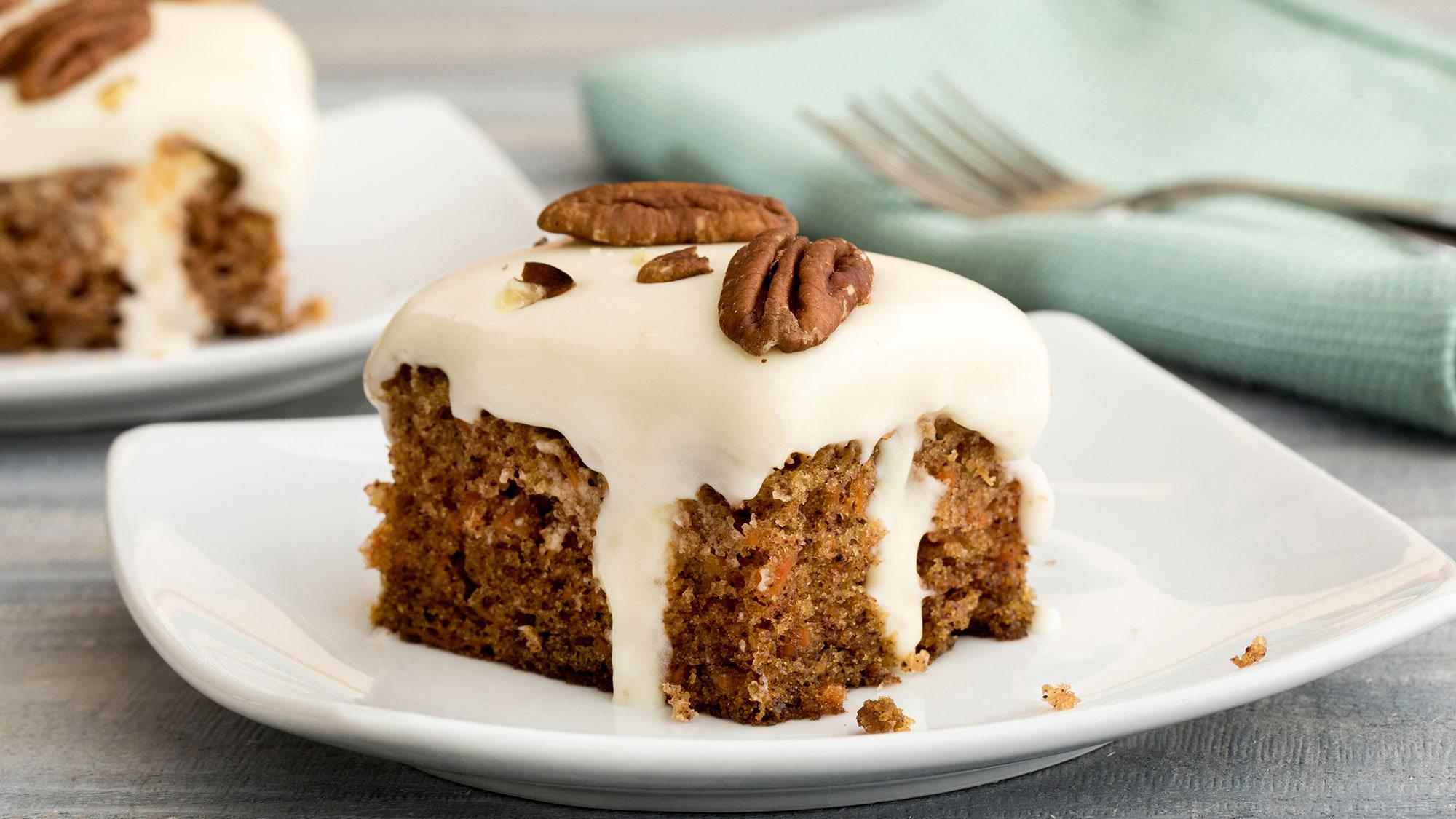 McCormick Carrot Cake Poke Cake