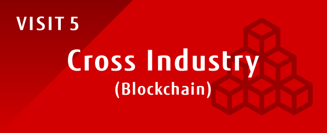 Figure : VISIT 5 Cross Industry(Blockchain)