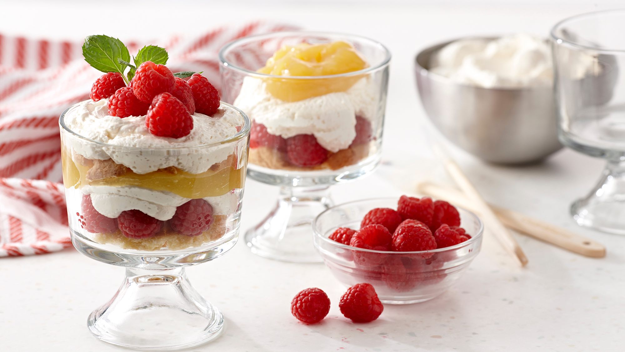 McCormick Raspberry Parfaits