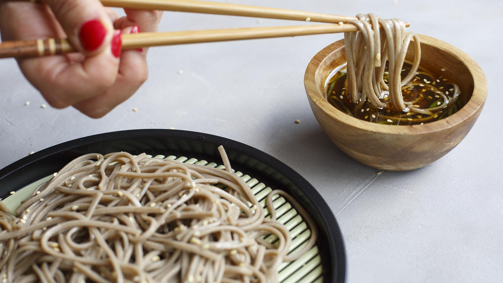 Simply Asia Cold Soba Noodles with Citrus Soy Dipping Sauce