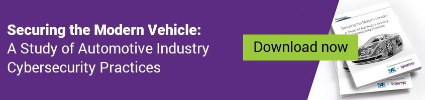 自動車業界のサイバーセキュリティ・プラクティスに関する調査 | シノプシス