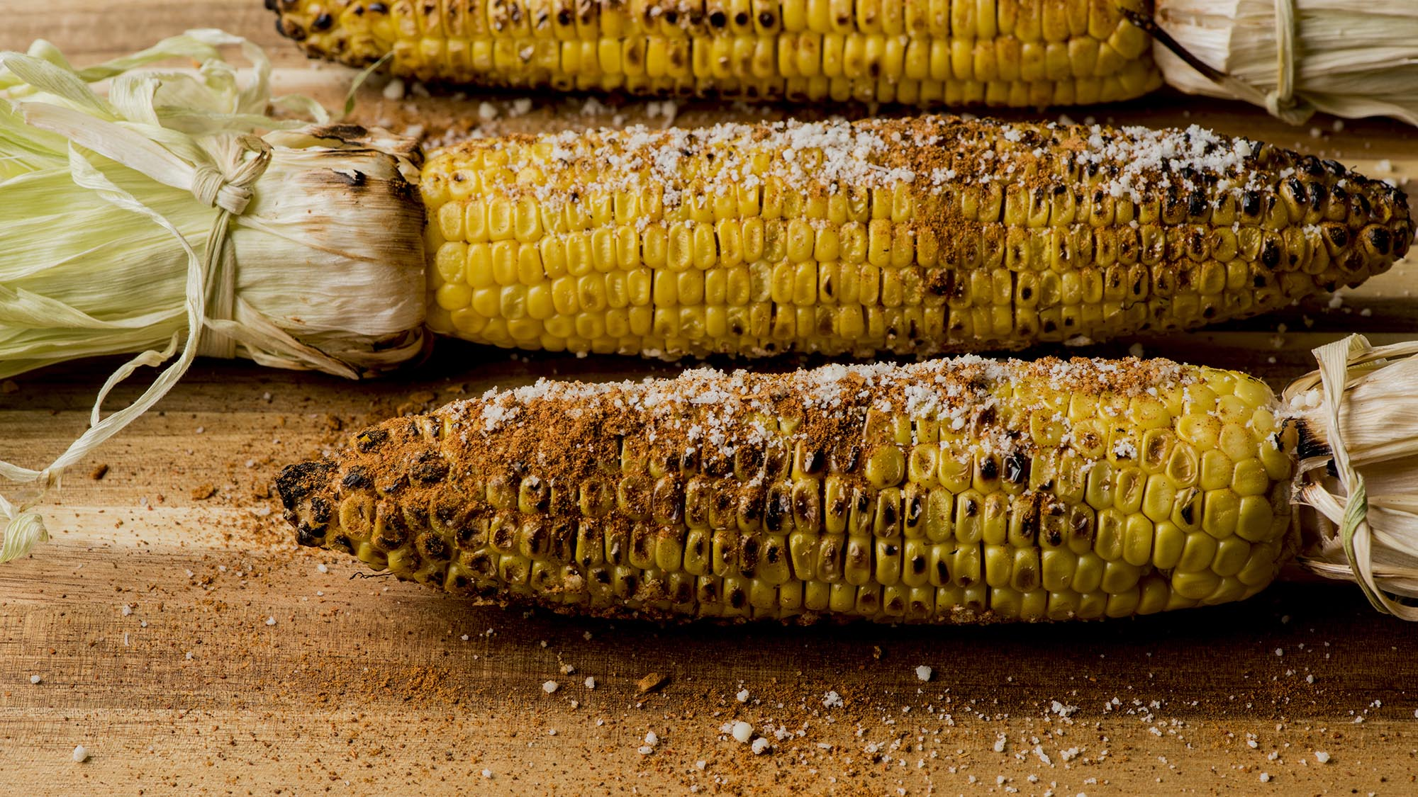 McCormick Grilled Corn with Cheesy Taco-Spiced Butter