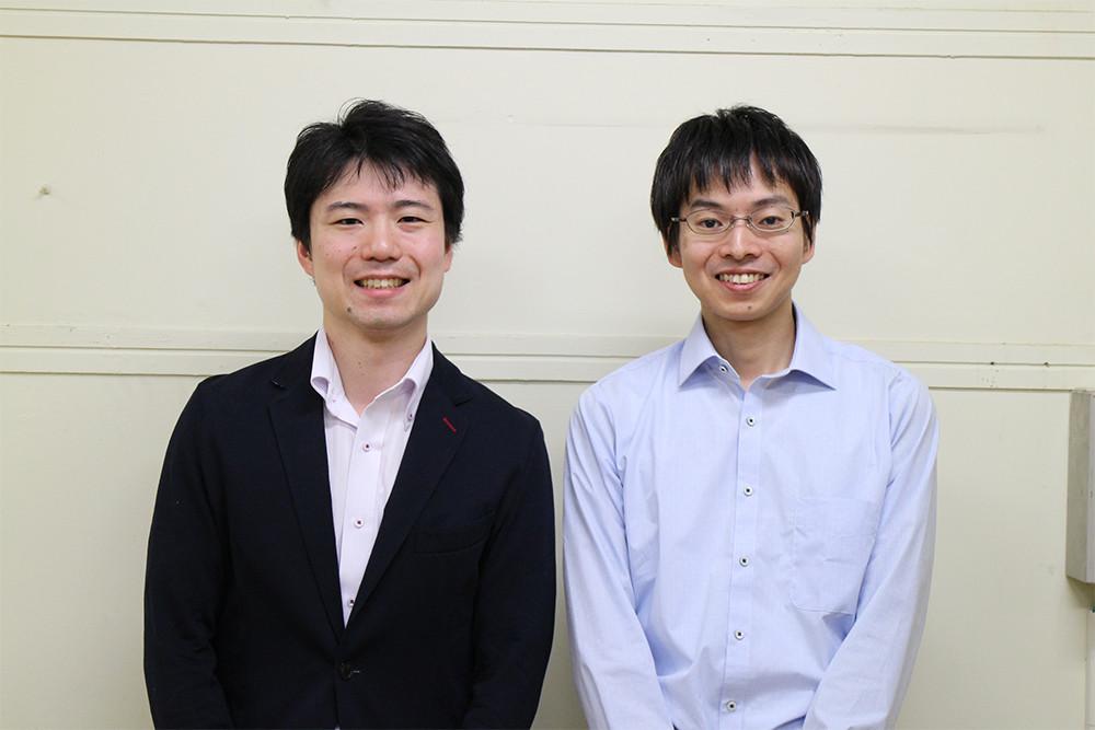 東芝 研究開発センター マルチメディアラボラトリー 森内優介氏(左) 三島直氏(右)
